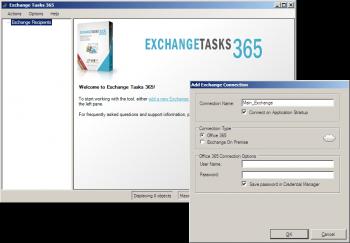 Anzeige für Exchange Tasks 365